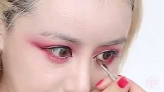 The Bloody Princess Halloween Tutorial | Red Eye Makeup Thumbnail