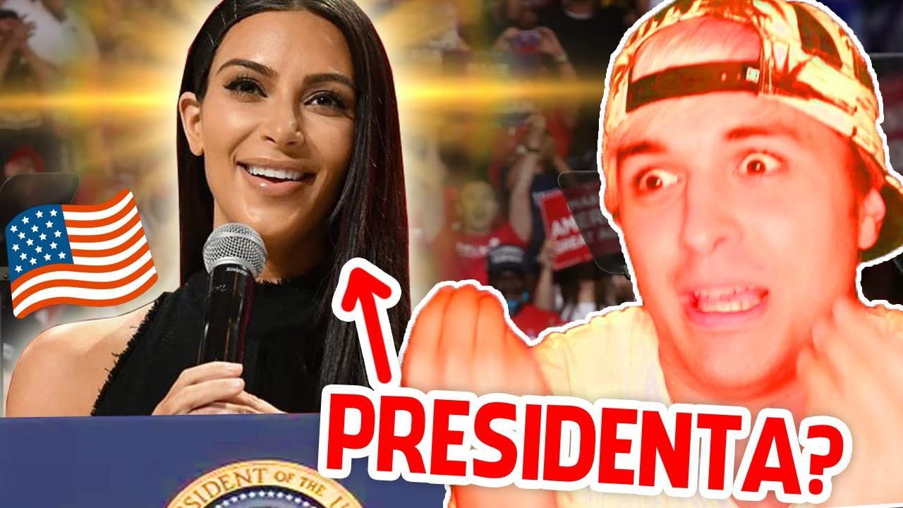 Kim Kardashian se postula a PRESIDENTA de Estados Unidos...? 🇺🇸 ¿Podría ganar? 🤔