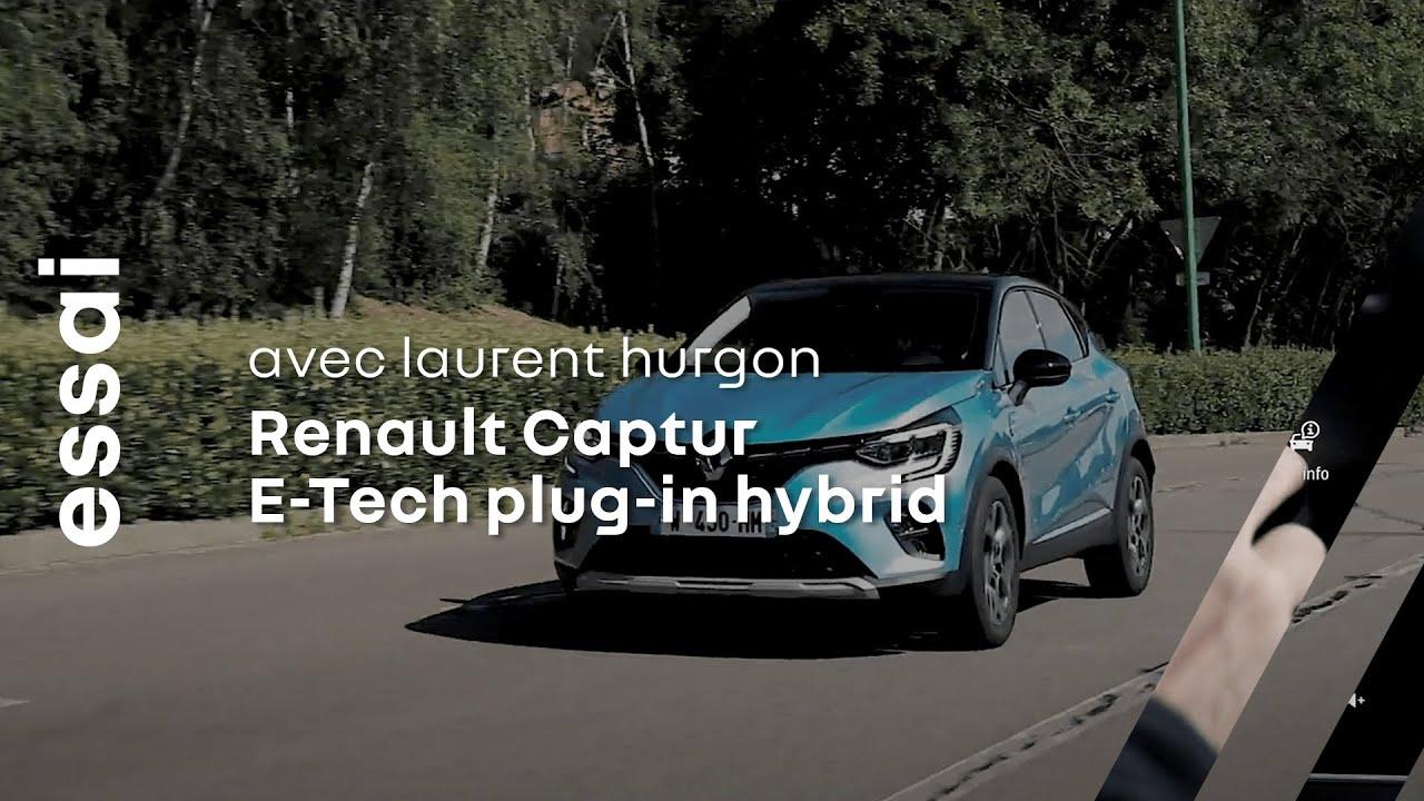 Essai Nouveau CAPTUR Hybride Rechargeable par Laurent Hurgon | Renault