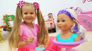 Dolls ran away from Diana