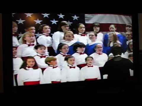 James E Bazzell Middle School, 1990s A Star Spangled Christmas Clip