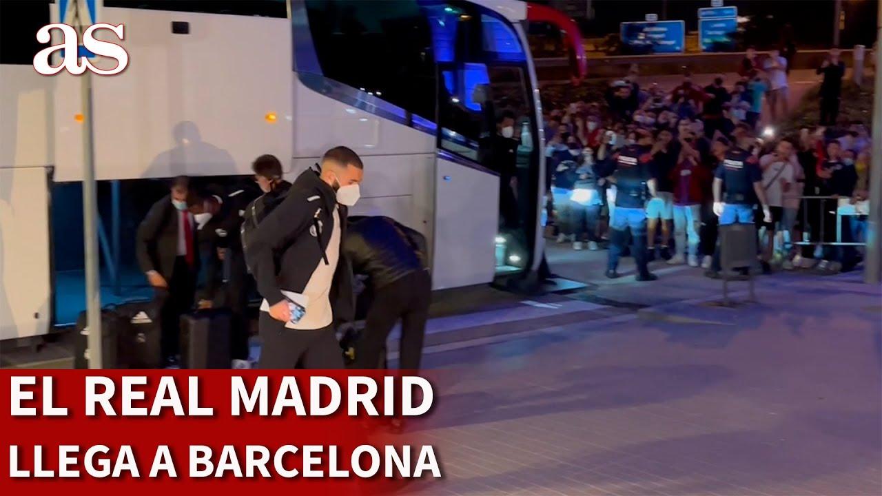 Download BARCELONA VS. REAL MADRID | El Real Madrid ya se encuentra en Barcelona | Diario AS