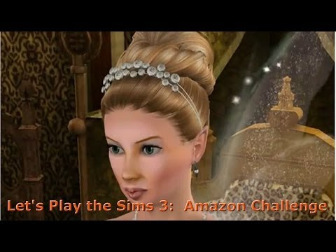Let's Play The Sims 3 Amazon Challenge Pt 6: Free At Last, Free At Last