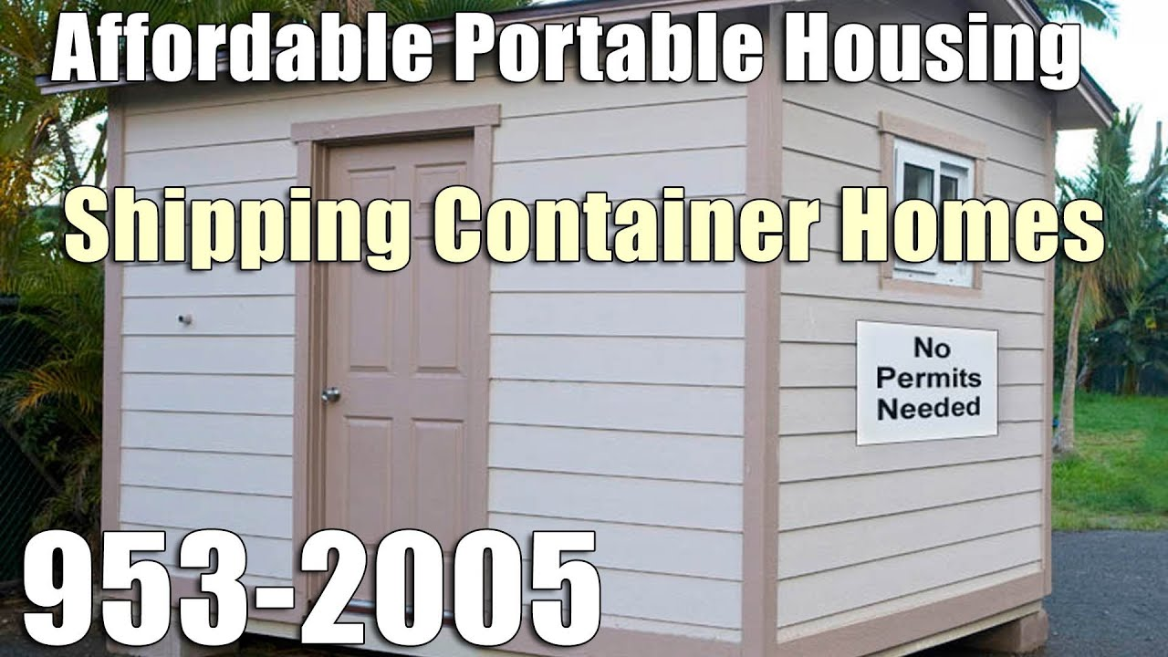 Shipping container homes in hawaii 808 953 2005 hawaii shipping container home youtube - Container homes hawaii ...