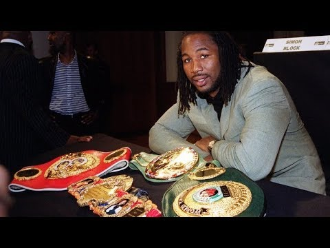 SHOWTIME SAY LENNOX LEWIS WAS NEVER UNDISPUTED HEAVYWEIGHT CHAMPION!!