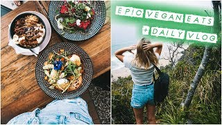 A DAY IN MY LIFE VLOG + What I Eat In A Day | Vegan 🍔🍟🍳