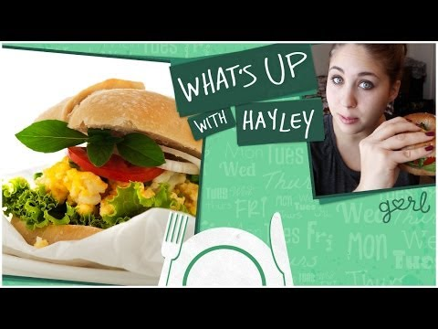 How To Make A Vegetarian Breakfast Sandwich – What's Up With Hayley