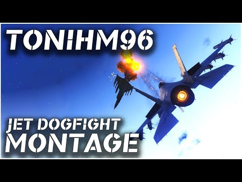 GTA V PC | Awesome Jet Dogfight Montage | By Tonihm96