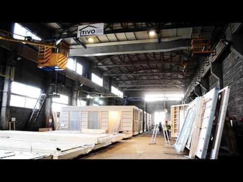 TIVO Timber Frame Modular Houses Factory