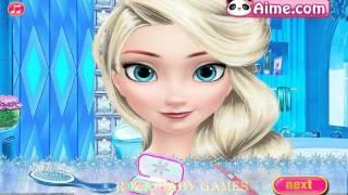 ♦ Elsa Stylish Makeover ♦ ▬ Принцесса Эльза, стильный макияж, игра для девочек
