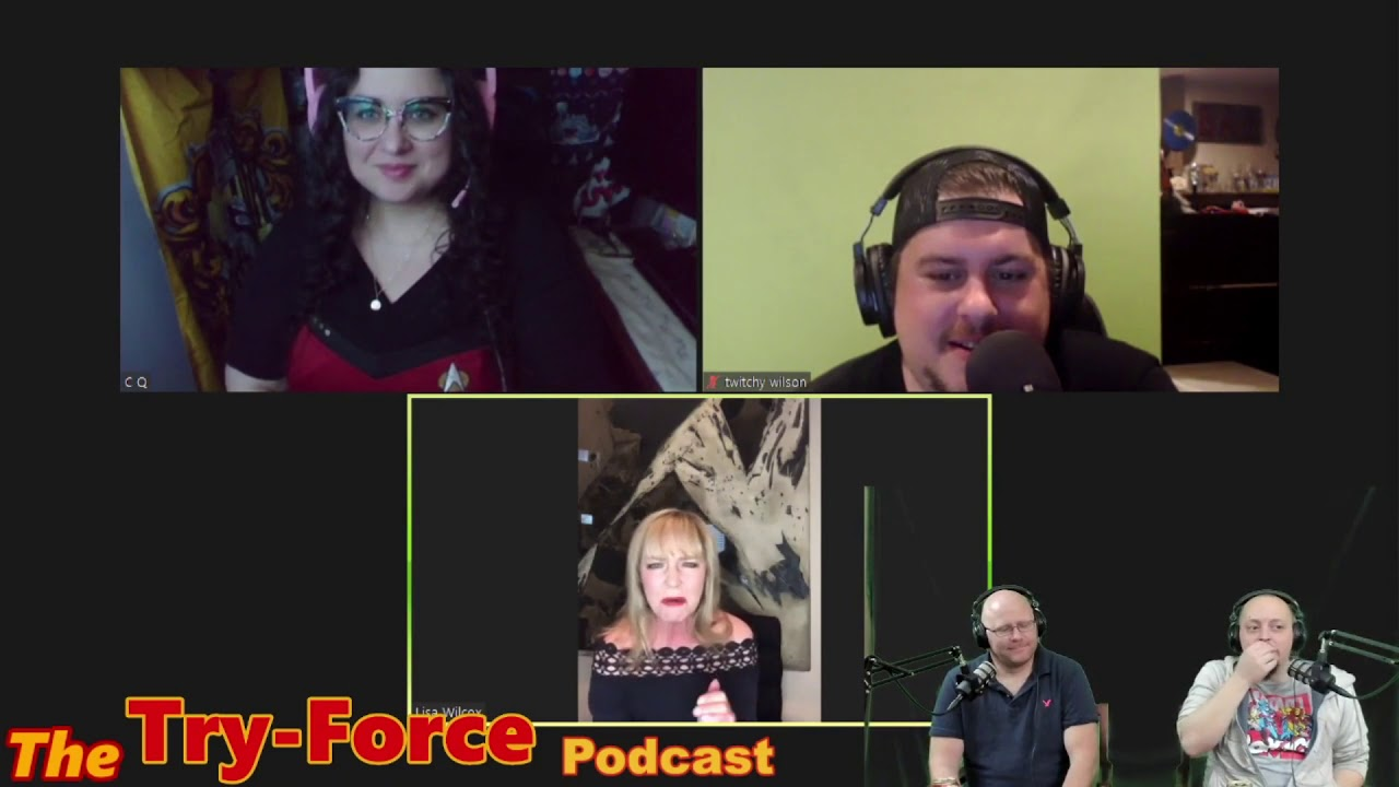 #204 Try-Force Podcast: A Nightmare On Nerd Street with Lisa Wilcox
