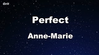 Perfect - Anne-Marie Karaoke 【With Guide Melody】 Instrumental