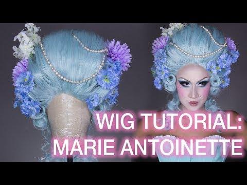 Pastel Marie Antoinette Wig Styling Tutorial!