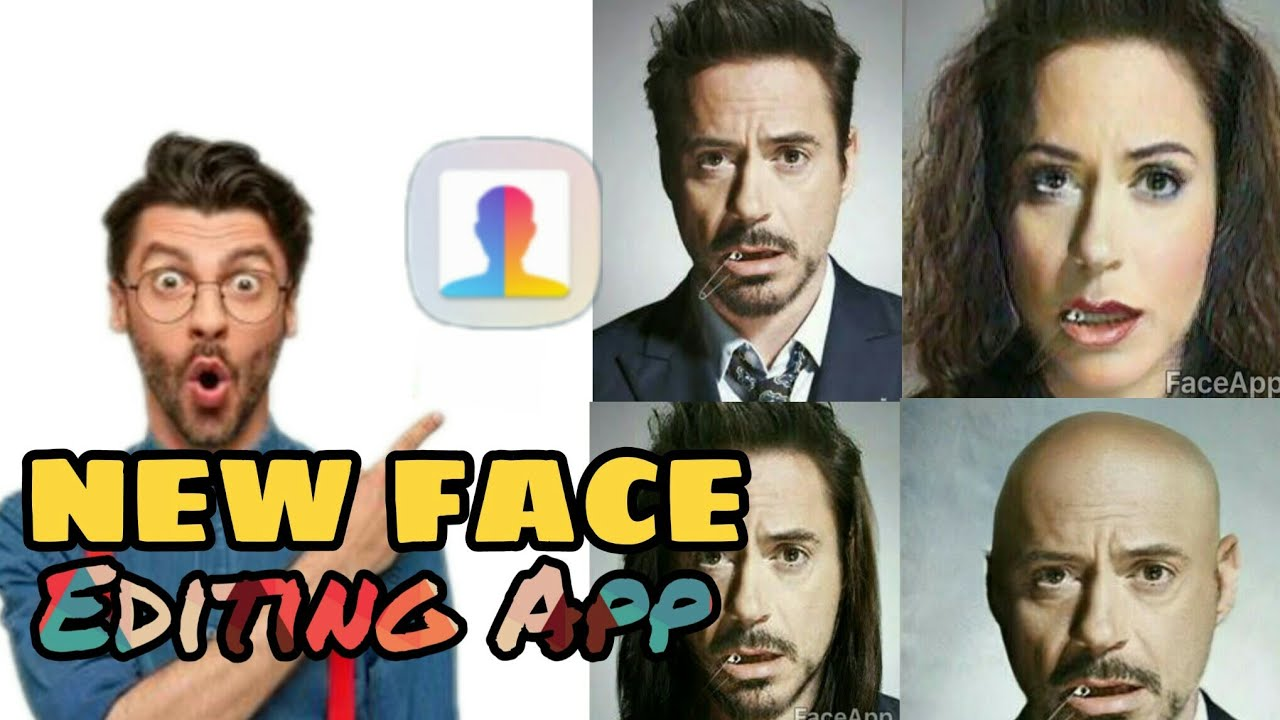 How To All Face Editor App The most advanced photo editing technology