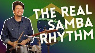The Real Samba Rhythm - Edu Ribeiro   2 Minute Jazz