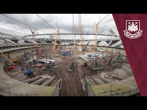 TIME-LAPSE: Amazing Olympic Stadium footage
