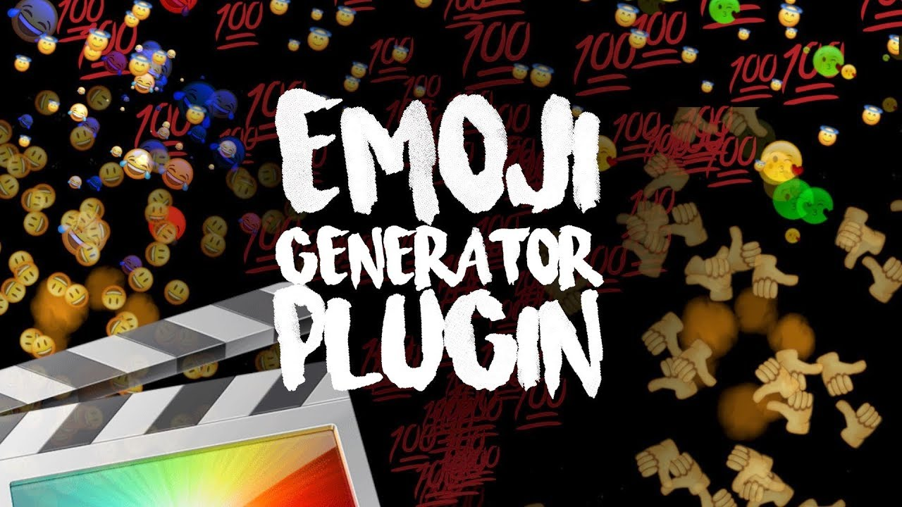 Free Emoji Generator Plugin - Final Cut Pro X - Ryan Nangle