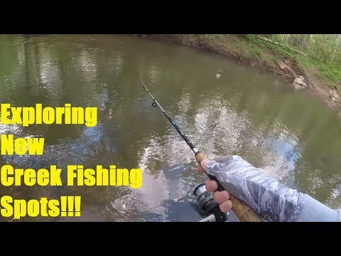 Exploring New Creek Fishing Spots. Haw River Trail/Reedy Fork NC.