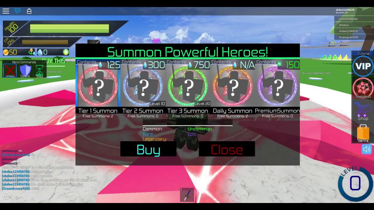 Roblox Summoner Tycoon Promo Codes 15k Code For Summoner Tycoon Youtube