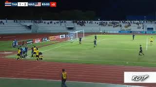 U15 Thái Lan đánh nhau với U15 Malaysia tại trận chung kết ( u15 thailand war U15 Malaysia)