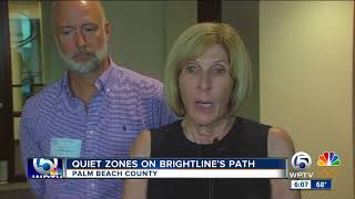 Local leaders turn up pressure on Brightline to complete construction for quiet zones