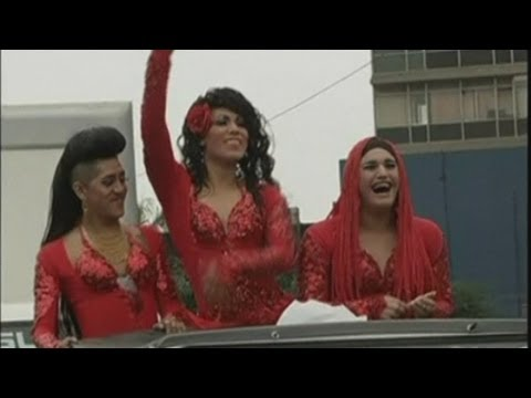 Thousands Celebrate Gay Pride Parade In Amsterdam | NBC News from YouTube · Duration:  1 minutes 4 seconds