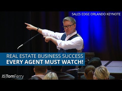 Building a Successful Real Estate Business and Q&A  | Tom Ferry | Sales Edge Toronto 2017 Keynote