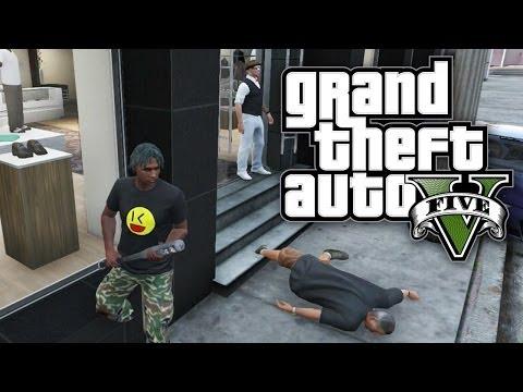 GTA 5 THUG LIFE #55 - JUMPING PEOPLE! (GTA V Online)