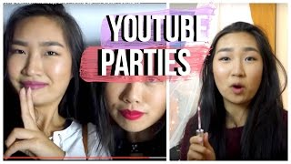 Pre Beautycon Party, Trying out New Makeup, and Picking up my Sister | JensLife