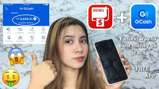 Easiest Way to Earn money on Gcash! 💯 (CASHZINE) | Elaine Tecson