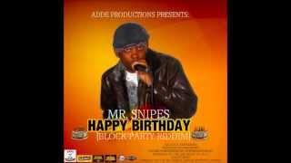 MR SNIPES AKA SNYPA - HAPPY BIRTHDAY AUG 2013 BLOCK PARTY RIDDIM @ADDEPROD @MRSNIPESMUSIC