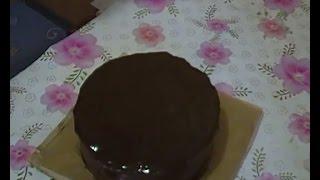 Глазурь на какао для тортов. Рецепт