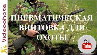 Пневматическая винтовка для охоты!Videoohota
