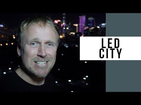 Shenzhen, China Is A LED City