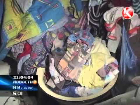 КТК: В подвале живет семья с детьми