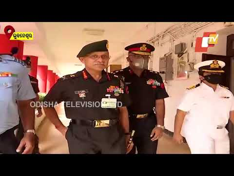 Vice Chief Of Indian Army Lt Gen Chandi Prasad Mohanty Visits Sainik School In Bhubaneswar