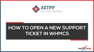 This video shows detailed information on how one can open a support ticket quickly through our online ticketing module powered by whmcs.