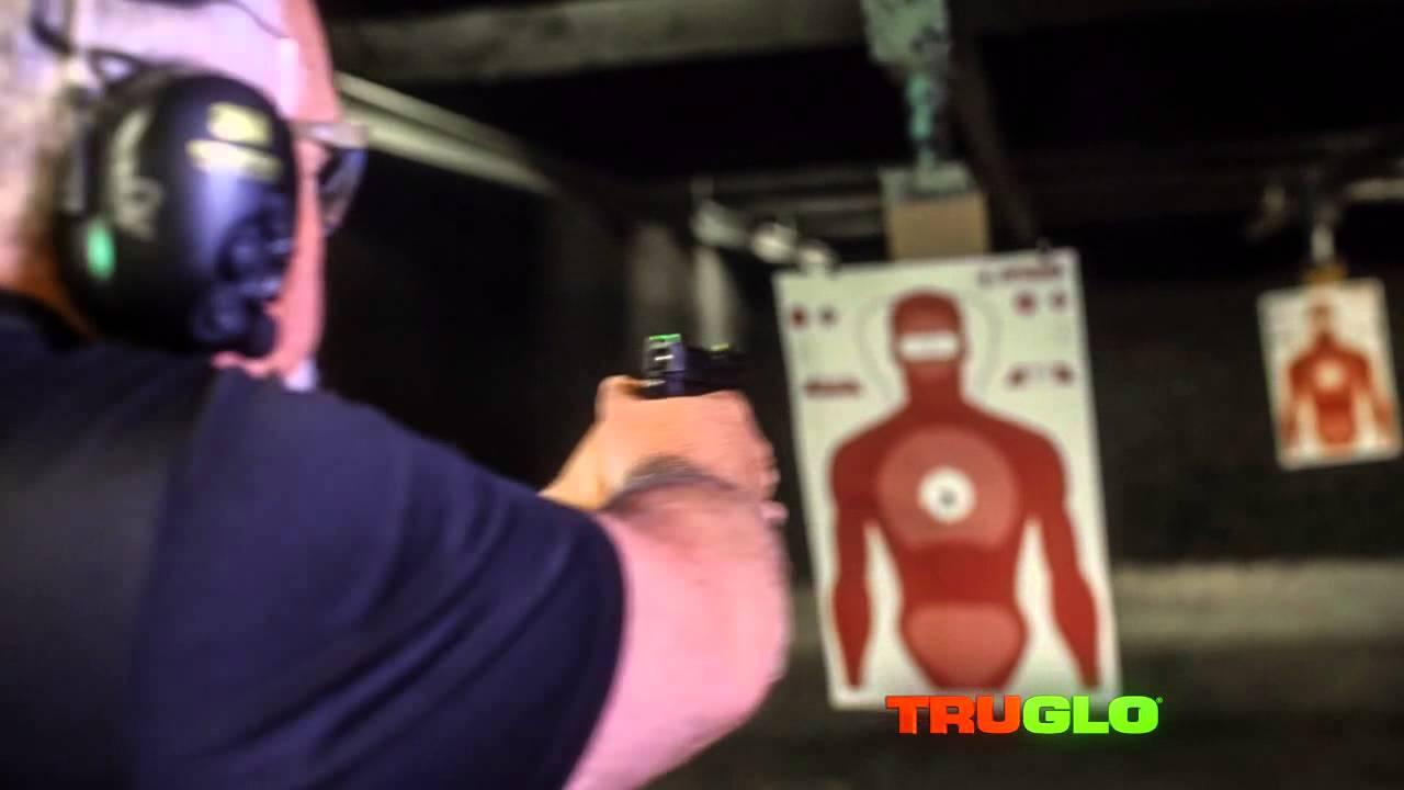 TruGlo TFO Novak .260//.500 Set Handgun Sight-Yellow TG131NT3Y