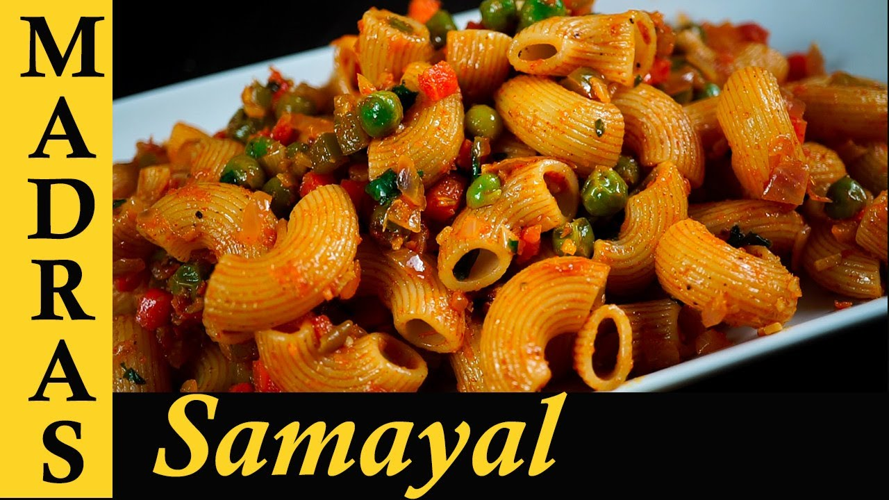 Macaroni Pasta Recipe In Tamil How To Make Pasta At Home Without Sauce Veg Pasta In Tamil Youtube