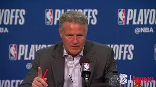 Brett Brown | Postgame vs Celtics (5.5.18)