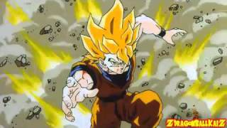 Dragon Ball Z AMV - Time Of Dying - Three Day Grace
