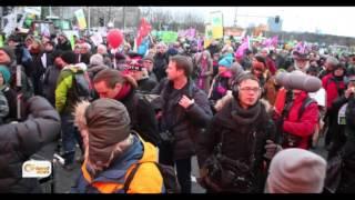 نشطاء مستقلون في المانيا  يطالبون برفع الحصار عن المدن السورية