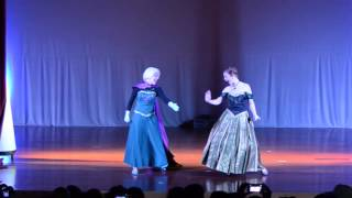 Teatro Frozen - Por uma vez na eternidade