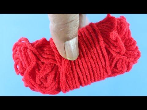 Amazing Craft Out Of Wool ! Diy Woolen Craft ! Creative Craft Ideas !