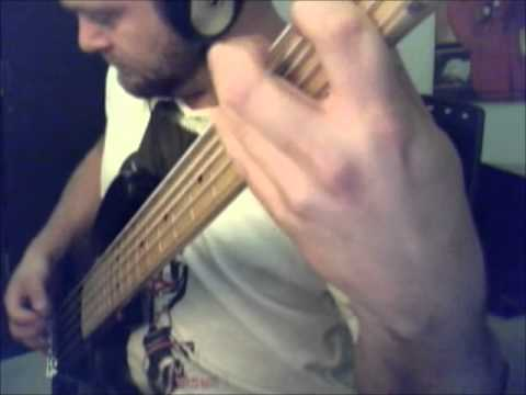 Pitch Black (Cut) | Meshuggah Bass Cover | Fender Jazz Bass V Modern Player