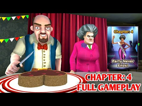 Download Scary Teacher 3D - Chapter 4 Party Never Ends All Levels Complete | Android iOS Gameplay