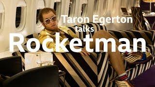Taron Egerton interviewed by Simon Mayo