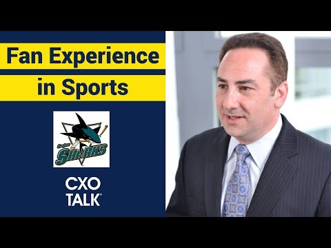 Customer Experience  in Sports with NHL San Jose Sharks (CXOTalk #305)