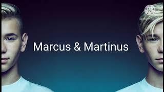 Marcus & Martinus - Never (Lyrics) feat. OMI