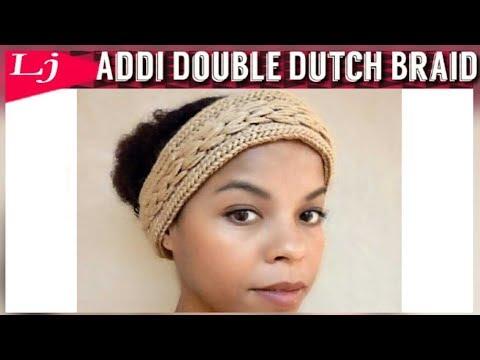 Addi Express Double Dutch Braided Headband